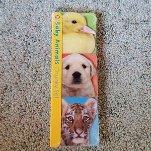 3 for $23 Baby animals chunky book set
